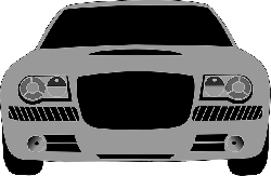 back, view, drive, car, sport, cartoon, transportation