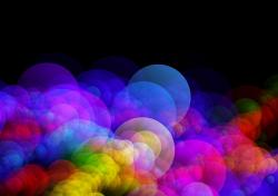 background, bokeh, light, circle, points, abstract