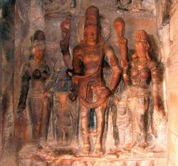 badami, cave temples, sculpture, india, temple, unesco