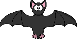 bat, simple, cartoon, wings, halloween, scary, fear