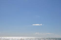 beach, sky, sea, ocean, cloud, mediterranean, coast