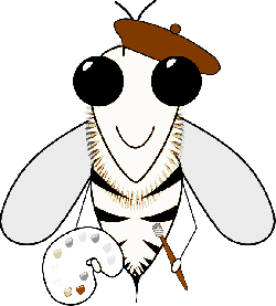 bee, art, busy bee, hive, honey, painter, painting