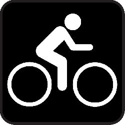 biking, bike, bycicle, sports, black, sign, symbol