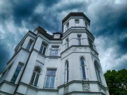 binz, germany, house, home, old, architecture, sky