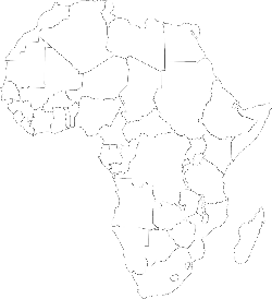 black, africa, outline, map, silhouette, white, empty