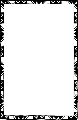 black, decorated, frame, white, page, border, free