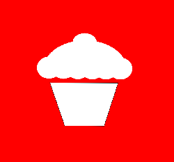black, flat, icon, simple, cake, outline, drawing, cup