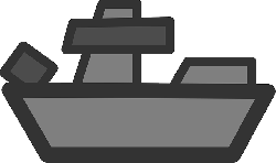 black, flat, war, fight, grey, boat, theme, battleship