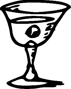 black, glass, wine, drawing, tom, drinking, goblet