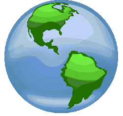black, green, icon, simple, outline, globe, map, world