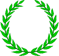 black, green, icon, wreath, outline, symbol, drawing