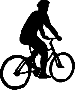 black, man, ride, shadow, bike, riding, bicyclist