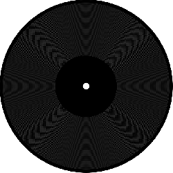 black, music, circle, disc, audio, vinyl, record, play