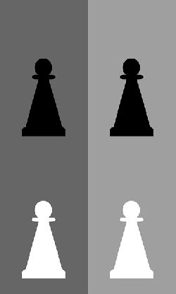 black, set, white, chess, board, game, pawn, piece