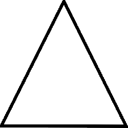 black, white, triangle, elements, four, lines, line