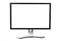 blank, business, computer, desktop, display