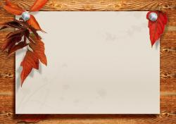 boards, space, leaves, autumn, paper, design