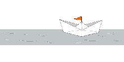 boat, paper, folded, ship, water, paper boat