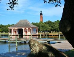 boathouse, lighthouse, dock, pier, small craft harbor