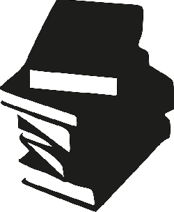 books, library, paper, reading, silhouette, staple