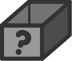 box, flat, question, theme, icon