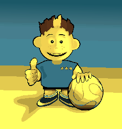 boy, soccer, kid, kids, child, cartoon, ball, free