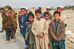 boys, group, poor, curious, persons, children, afghani