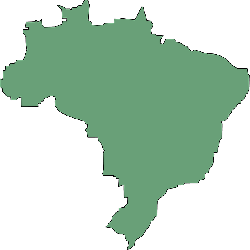 brazil, country, geography, outline, map, south america