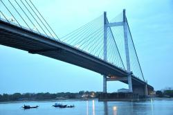 bridge, kolkata, india