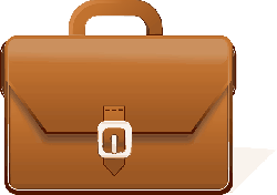 briefcase, office, suitcase, case, trunk, bag, leather