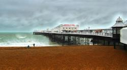 brighton, pier, seaside, sussex, amusement