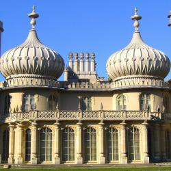 brighton, royal, pavilion, palace, architecture