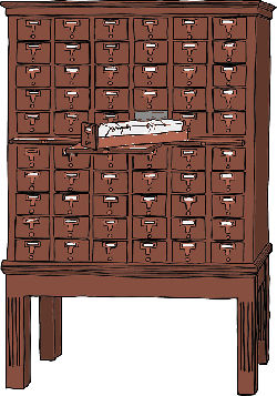 brown, office, card, furniture, storage, file, wood