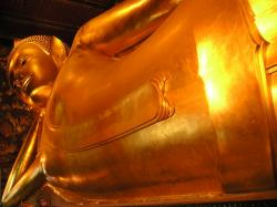 buddha, gold, huge, large, thailand, southeast, asia