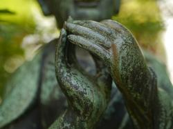buddha, leverkusen, hands, sculpture, art, fig