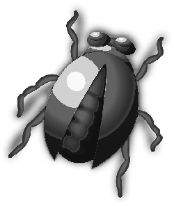 buddy, bugs, bug, free, vector, cute, insect, beetle