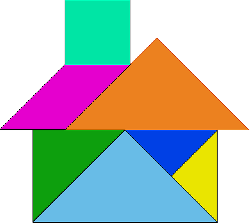 building, house, pattern, kids, shapes, blocks, puzzle