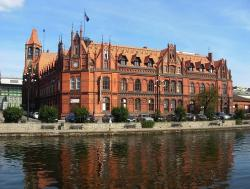 bydgoszcz, poland, building, buildings, post office