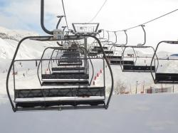 cable, chair, chairlift, cold, lift, mountain, outdoors