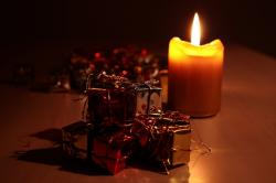 candle, bill, light, package, made, christmas, festival