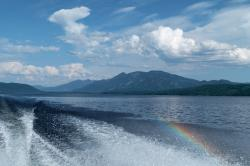 canim lake, british columbia, canada, water, boating