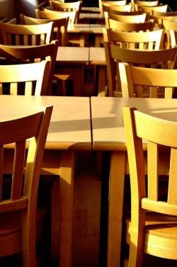 canteens, background chairs, tables, table, restaurants