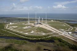 cape, canaveral, florida, nasa, outside, launch pad