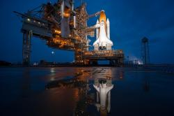 cape canaveral, florida, space shuttle, launch pad