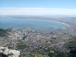 cape town, south africa, city, bay