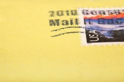 card, design, envelope, letter, mail, mark, paper, post