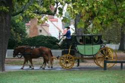 carriage, vehicle, horses, harnesses, reins, travel