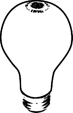 cartoon, phillips, thought, light, electronics, bulb