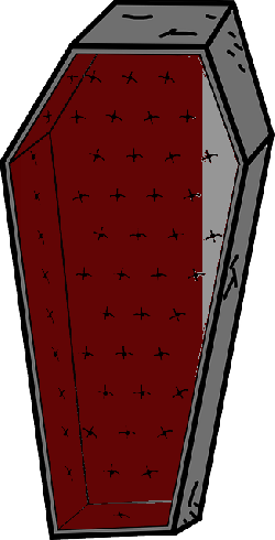 casket, coffin, horror, dracula, halloween, red