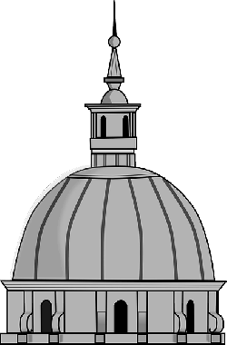 cathedral, dome, building, religion, church